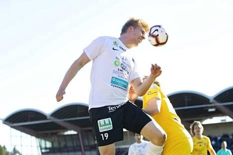 Keskikentällä kehittynyt Samuli Virtanen oli yksi monista MuSan onnistujista.