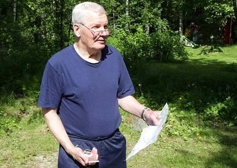 Mäntän Seudun Eräpirkkojen Antti Hietanen seuraa tänä vuonna Jukolan viestiä televisiosta. Oma osuusvoitto reilun 2,5 tunnin urakan jälkeen vuodelta 1966 herkistää miehen mielen yhä.