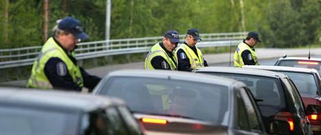 Tämän vuoden tehovalvonnassa jäi haaviin aiempia vuosia enemmän rattijuoppoja. Lisäksi huumetapausten määrä liikenteessä oli kasvanut.