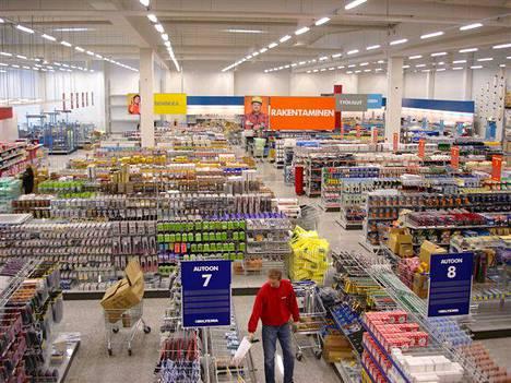 Biltema avaa myymälänsä Poriin ensi vuonna. Arkistokuva on Kempeleen Biltemasta.