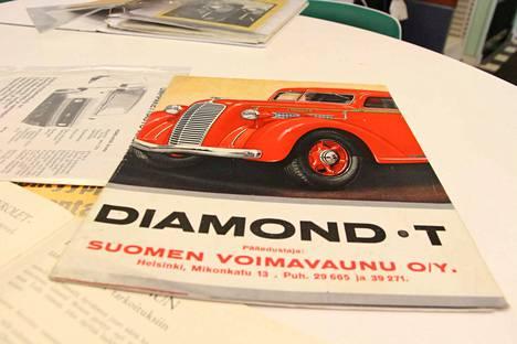 Amerikkalainen Diamond T oli tunnettu automerkki 1930-luvulla. Tänä päivänä se on harvinaisuus.