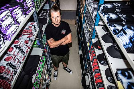 Matti Lehtonen perusti Backstage Rock Shopin vuonna 2011. Kuluva vuosi on yrityksen tähän mennessä paras.