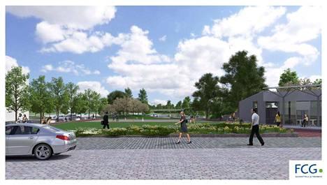Lepänkorvan puisto näyttää ensi kesänä aivan erilaiselta kuin nyt. Puiston juhlakentän käytöstä ei vielä ole tehty suunnitelmia.