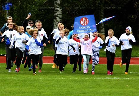 NoU selvisi isojen kaupunkien sarjan Vattenfall seuracupin finaaliin järjestäjänä. Seuran nuoret ottivat useita hyviä sijoituksia, vaikka kokonaissijoitukseksi tuli 16. Monelle tapahtuma oli ensimmäinen iso yleisurheilukilpailu.