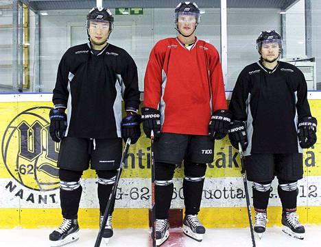 Yuki Sasaki, Joni Seinälä ja Ryan Alves solmivat vuoden sopimuksen.