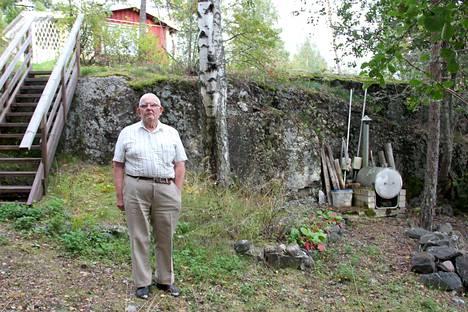 Taisto Paattiniemen kotirannassa näkyvät Juho Snäckströmin 18-vuotisen työn jäljet.