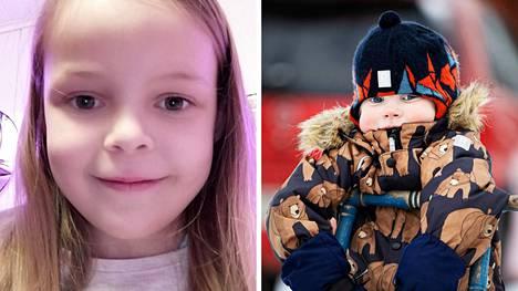 Nokialainen Anni Stenvik, 7, ja hämeenkyröläinen Konsta Viitanen, 3, ovat kummatkin sydänlapsia. Stenvik on leikattu kolmesti puuttuvan kammion takia, ja Viitaselta on operoitu keuhkovaltimoläpän ahtauma.