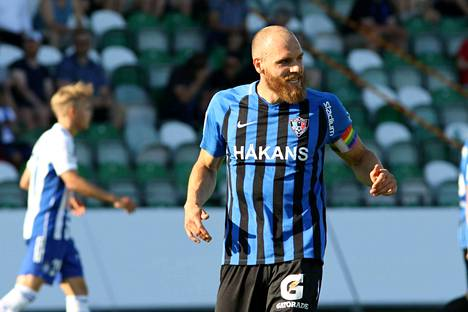Timo Furuholm iski voittomaalin Turussa.