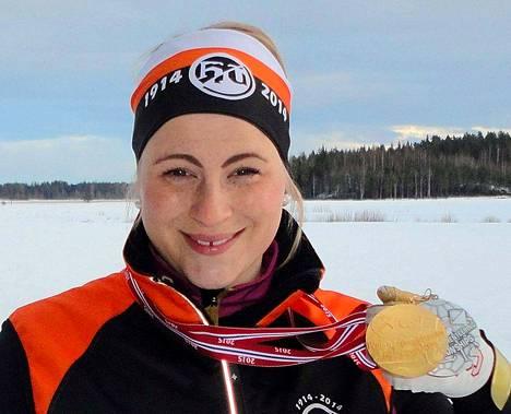 Hiihtosuunnistaja Milka Reponen on viimeisin keuruulaista urheiluseuraa edustanut ja MM-kultaa voittanut urheilija.