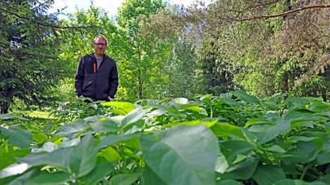 Suomalaisten puutarhasyntejä ovat hoitamaton nurmikko ja väärin leikatut hedelmäpuut, sanoo Jonathan Cross.