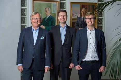 Oy Flinkenberg Ab:n entinen toimitusjohtaja Bernt Ehrnrooth ryhtyy hallituksen puheenjohtajaksi, Christoffer Ehrnroothista aloitti toimitusjohtajana huhtikuun alussa  ja Wilhelm Ehrnroothista business controller.