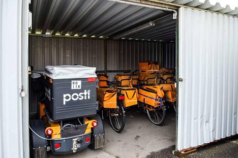 PAU:n lakko ei ehtinyt vaikuttaa radikaalisti postinjakeluun.