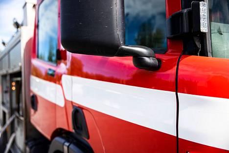 Pelastuslaitos sai hälytyksen onnettomuudesta kello 18.30 aikaan.
