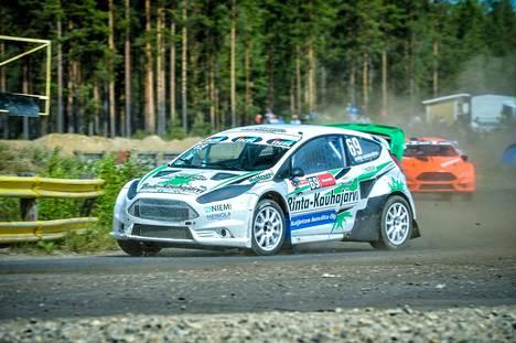 Janne Rinta-Kauhajärvi taistelee lauantaina paikasta kuuden parhaan joukkoon. Kuva viime vuodelta.