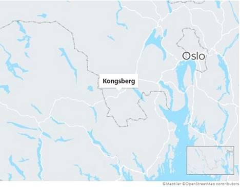 Tapahtumapaikka sijaitsee noin tunnin ajomatkan päässä Oslosta lounaaseen.