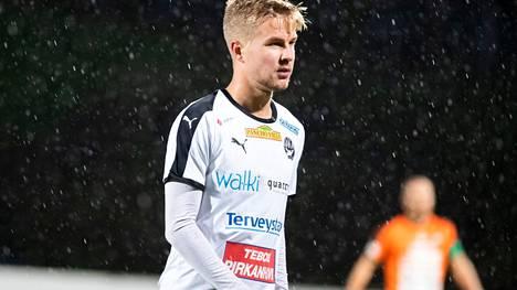 Hakan hyökkääjä Salomo Ojala on toipunut pelikuntoon.