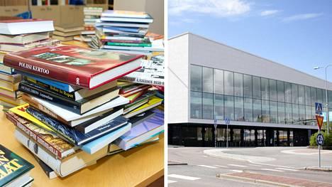 Itselle tarpeettomia kirjoja voi pian tuoda kierrätettäväksi Nokian Virta-kirjastoon, jonne tulee todennäköisesti ensi viikolla verkossa toimivat Finlandia Kirjan kierrätyspiste.