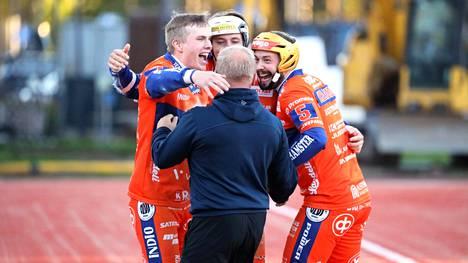 Karsintasarjan toinenkin osa päättyi Kankaanpään Mailan voitonjuhliin.