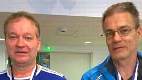 Rauno Harjunmäki ja Timo Levonen nappasit SM-pronssia viikonloppuna pelatuissa kisoissa.
