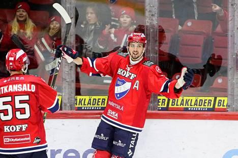 Eetu Koivistoinen oli HIFK:n ratkaisija kahdella osumallaan.