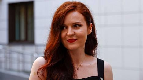Kira Yarmyšh kuvattuna Moskovassa 16. elokuuta.