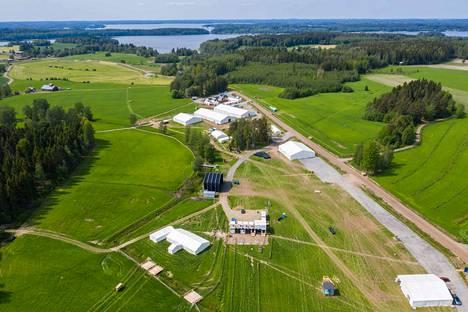 Kangasala-Jukolan kisakeskus valmistuu lopullisesti keskiviikkoon mennessä. Silloin järjestetään kenraaliharjoitus.