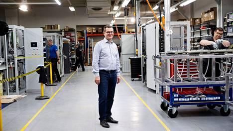 Nokialaisen teknologiayhtiö Merus Powerin toimitusjohtaja Kari Tuomala kertoo, että yhtiö aikoo hakea voimakasta kasvua.