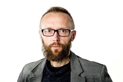 Lännen Median uutishuoneen päällikkö Jussi Orell. Kolumnikuva.