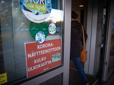 Arkistokuva Porin kaupunginsairaalalta.