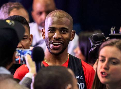 NBA:n pelaajayhdistyksen puheenjohtaja Chris Paul on innoissaan mahdollisuudesta.