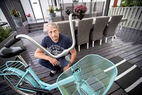 Petri Korpisen tytärpuolen pyörä varastettiin pari viikkoa sitten Porin maauimalalta.