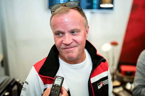 Tommi Mäkinen kutsui Rovanperän päätös-ek:n suoritusta käsittämättömäksi.