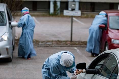 Koronavirustestissä on edelleen syytä käydä.