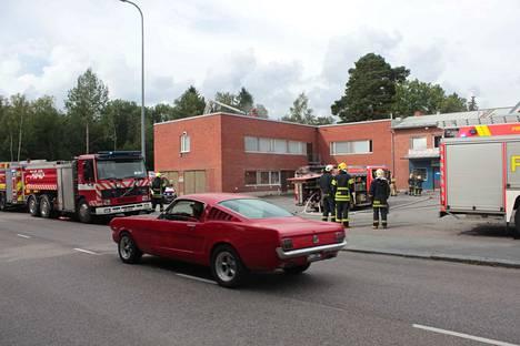 Asemakatu 15:ssä sijaitsee Sastamalan kaupungin työllisyyspalvelujen tiloja.