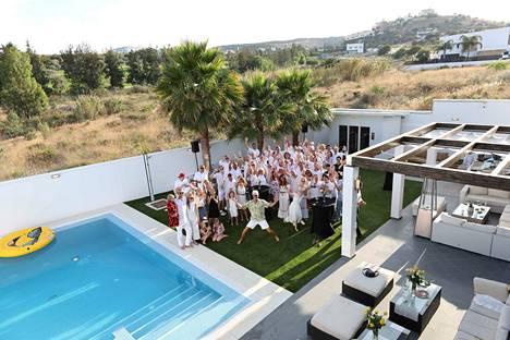 Kallioniemi juhli 60-vuotispäiviään kesällä Espanjan Aurinkorannikolla.