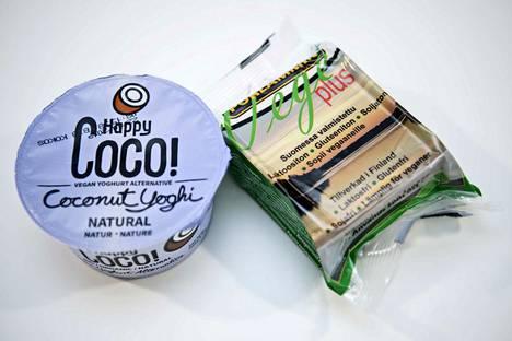 Vegaanisissa tuotteissa voi olla yllätysmäärä kovaa, tyydyttynyttä rasvaa.