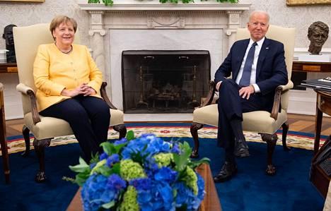 Yhdysvaltain ja Saksan välillä kitkaa on aiheuttanut Nord Stream 2 -hanke, joka Yhdysvaltojen mielestä pelaa Venäjän pussiin.