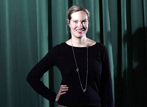 Riikka Suominen on Vihreän Langan päätoimittaja. Puolue on päättänyt lakkauttaa lehden.