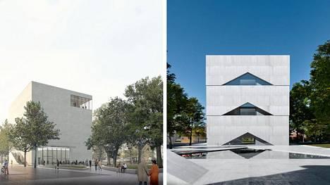 Sara Hildénin taidemuseon arkkitehtikilpailuun tuli 472 ehdotusta. Se on valtava satsaus luovuutta, sanoo arkkitehtuurin professori Tampereen yliopistosta. Havainnekuvissa Turner- ja Elon-ehdotukset.