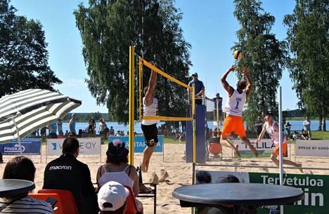 Sastamalan Open käynnisti tänäkin vuonna beach volleyn SM-kiertueen.