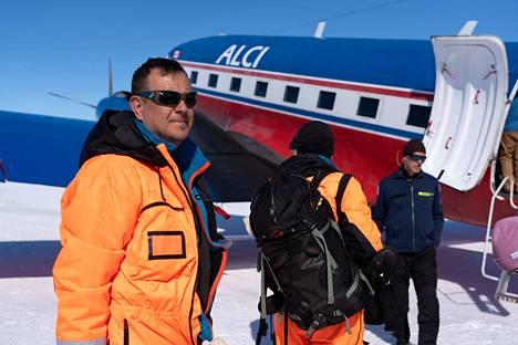 Tamperelainen Hannu Luoto oli mukana Finnarp 2019 -retkikunnassa Etelämantereella tutkimusasema Aboalla.