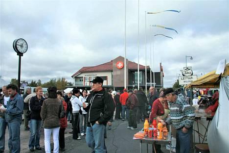 Nakkilan Nahkiaismarkkinat järjestetään sunnuntaina. Kuva 10 vuoden takaa, eli syyskuulta 2009.