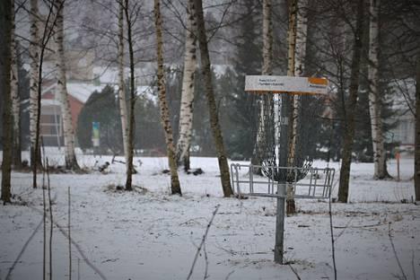 Frisbeegolf on suosittu laji nykyään myös talvisin. Harjavalta frisbeegolfpark oli yksi talven suosikkikohteista Satakunnassa.