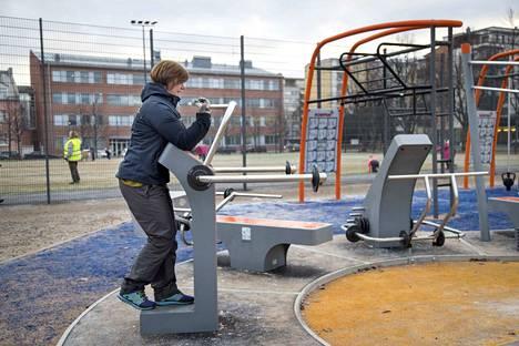 Liisantorin lähiliikuntapaikka on tuonut uusia liikuntamahdollisuuksia aivan Porin keskustaan.