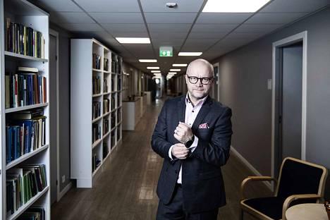 Toimitusjohtaja. Aki Kangasharju on johtanut Elinkeinoelämän tutkimuslaitosta viime maaliskuusta lähtien.