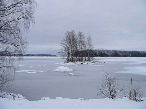 Tältä maisema näytti toiseen suuntaan Hannu Eskolin kuvassa.