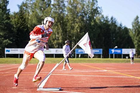 Rami Mäkinen toi kolme juoksu ja palkittiin UP-V:n parhaana.
