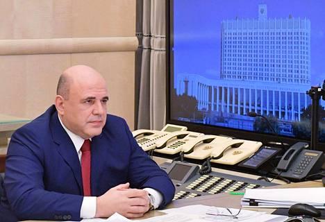 Venäjän pääministeri Mihail Misustin.
