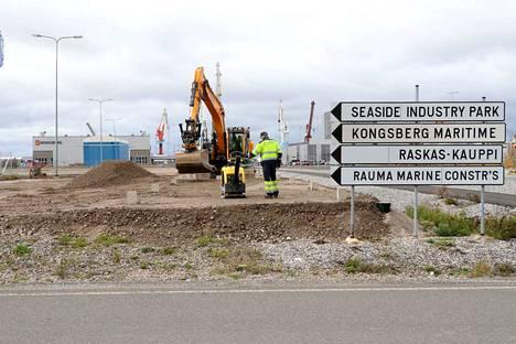 Rauma, Seaside Industry Park -meriteollisuuspuisto on laajentumassa aitojensa ulkopuolelle. Uutena yrityksenä on telakka-alueelle tulossa Merima Oy.