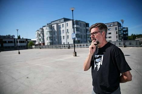 Matti Kuusela laski kaikki Nokian parkkiruudut. Niitä löytyi yli 30 000.